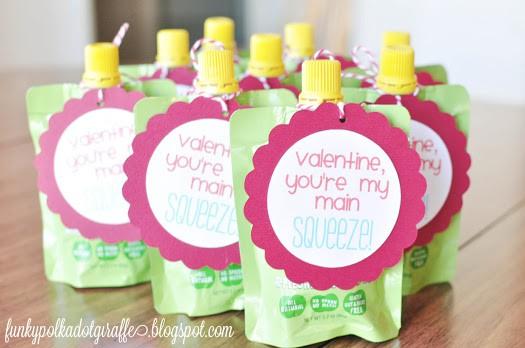 """Main Squeeze"" Applesauce Valentine"