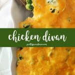 One of my all time FAVORITE weeknight meals, this chicken divan is easy, flavorful and delicious! You won't regret making this one!