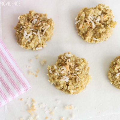 Coconut No Bake Cookies