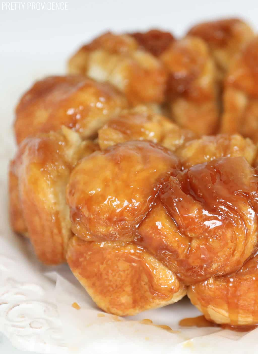 Monkey Bread - only 5 ingredients!! So delish.