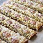 Oatmeal Banana Bars, the perfect grab and go snack