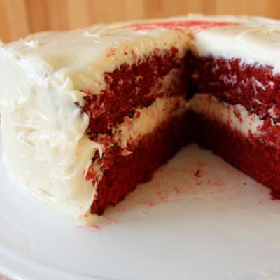 The World's Best Red Velvet Cake!