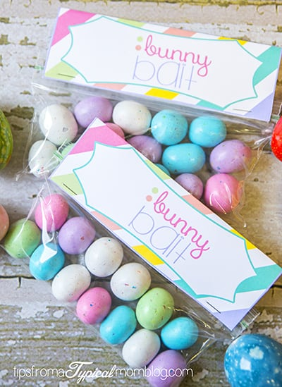 Easter bunny bait free printable
