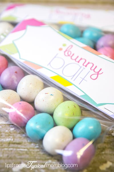 Easter Bunny Bait printables
