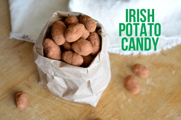 Irish Potato Candy - St. Patrick's day desserts