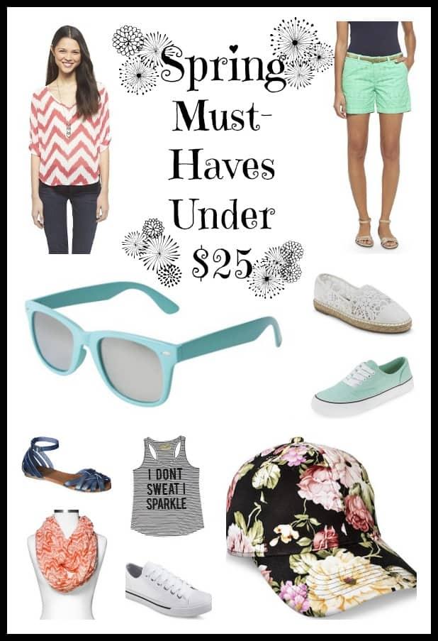 Spring must-haves under $25! prettyprovidence.com