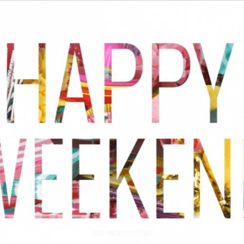 Happy Weekend: Links to Love!