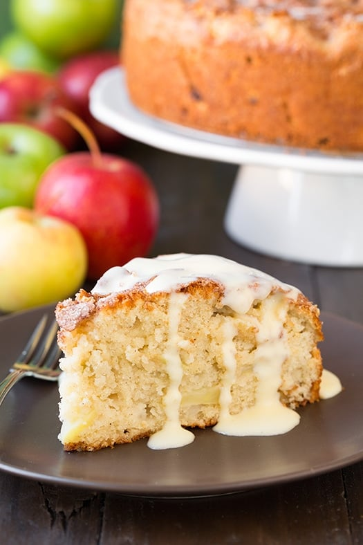 Traditional St. Patrick's Day Dessert - Irish Apple Cake