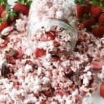 Chocolate Covered Strawberry Popcorn