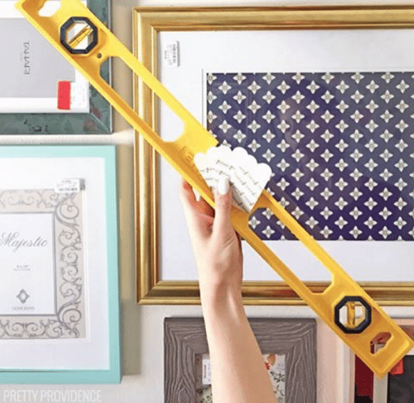 How To Hang A Perfect Gallery Wall Without Nails