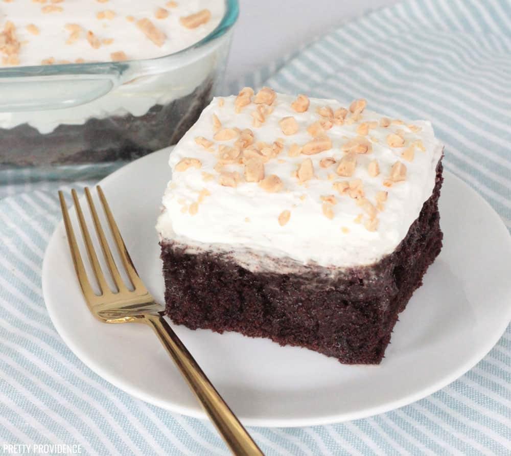 Chocolate Poke Cake (Better than Sex Cake)