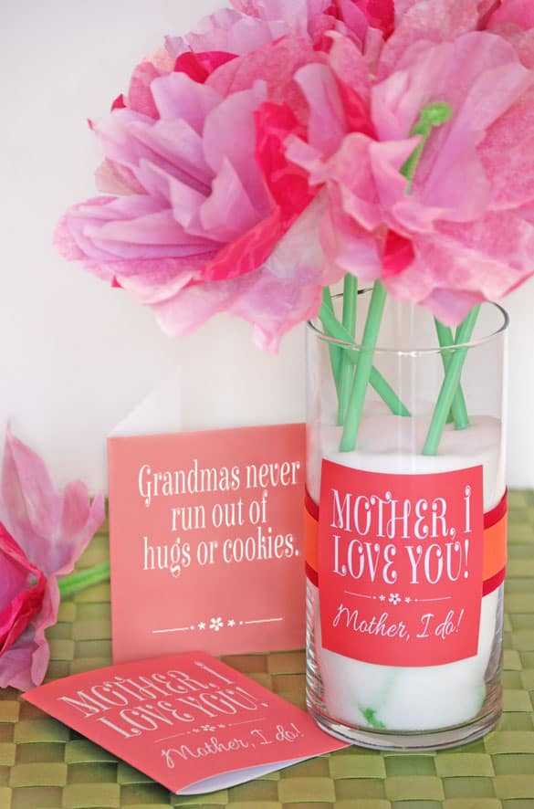 Cute Mother S Day Gift Idea And Printables Onecreativemommy On Pretty Providence Bonus