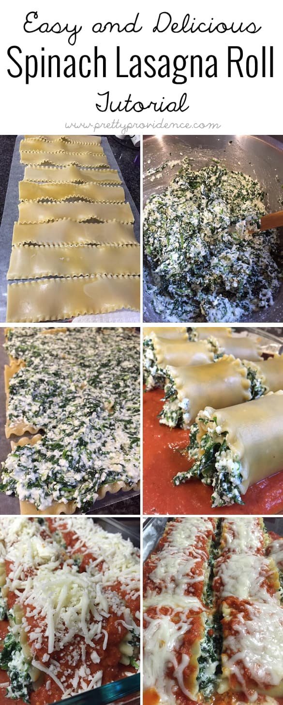 These spinach lasagna rolls are delicious, easy to make, and healthy! Can't get much better than that.
