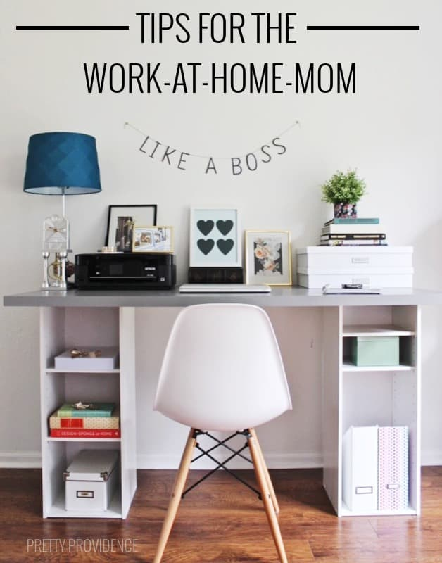 Such good tips for work-at-home-moms! Or really any moms!