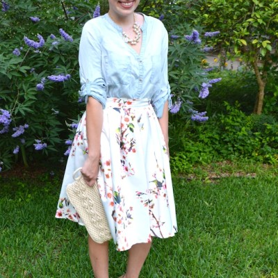 Florals & Chambray