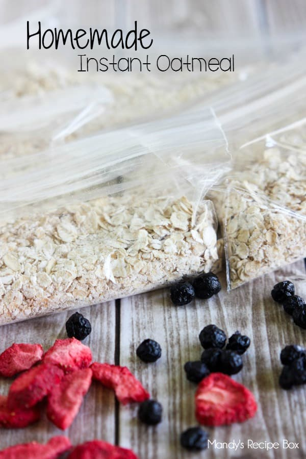 and convenient recipes, you'll love this Homemade Instant Oatmeal ...