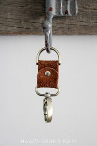 Leather Key Chain 12
