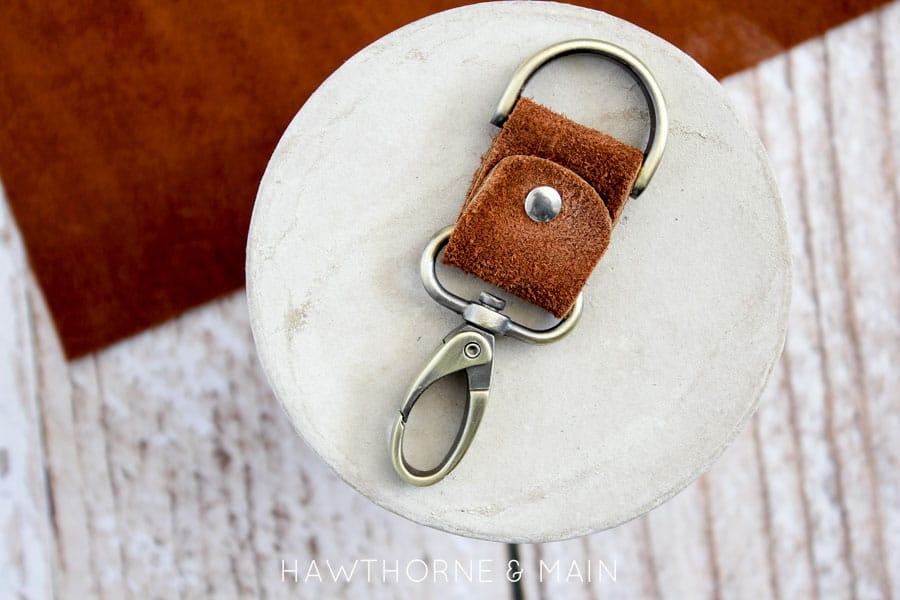 Leather Key Chain 8
