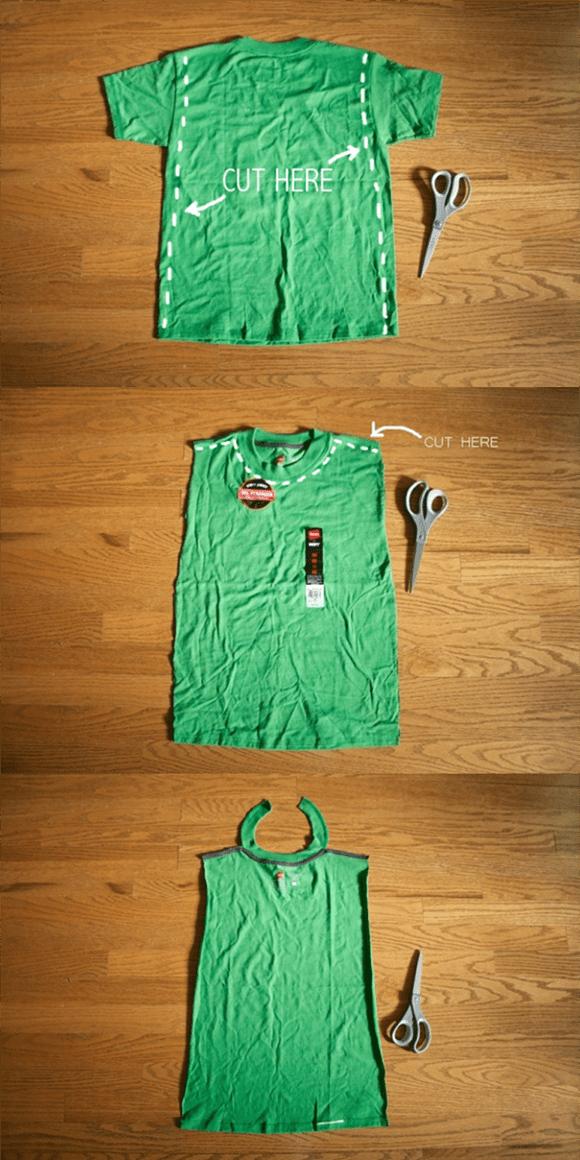 Superhero Shirt Cuts