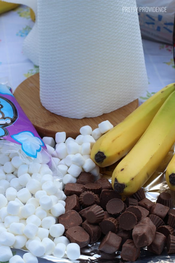Banana Boats are the best campfire treat and a fun alternative to S'mores! Best treat for camping with the family or just a trip up the canyon!
