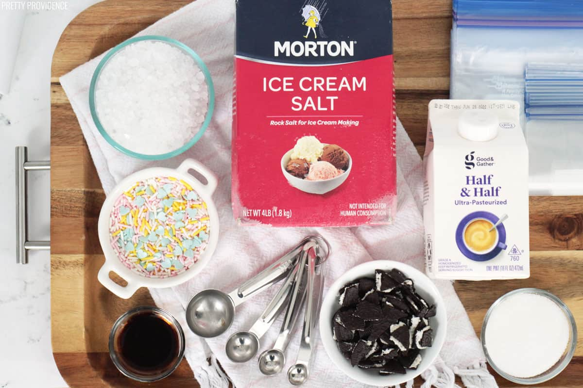 Fun and easy ice cream in a bag tutorial 0 from 0 votes ccuart Choice Image