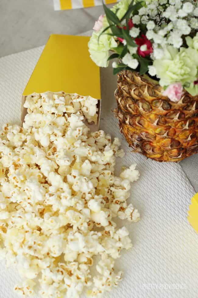 Piña Colada Popcorn