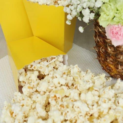 Piña Colada Popcorn Recipe