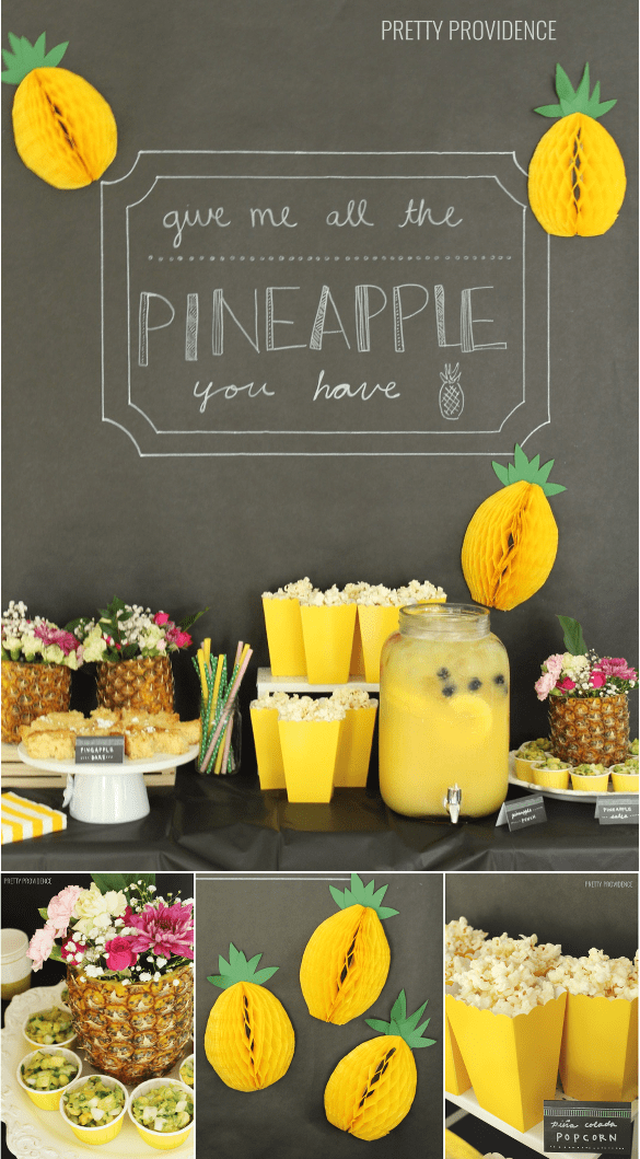 Pineapple party ideas!