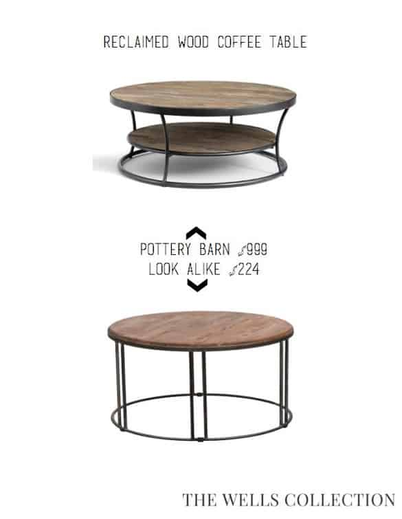 Pottery Barn Coffee Table for Less