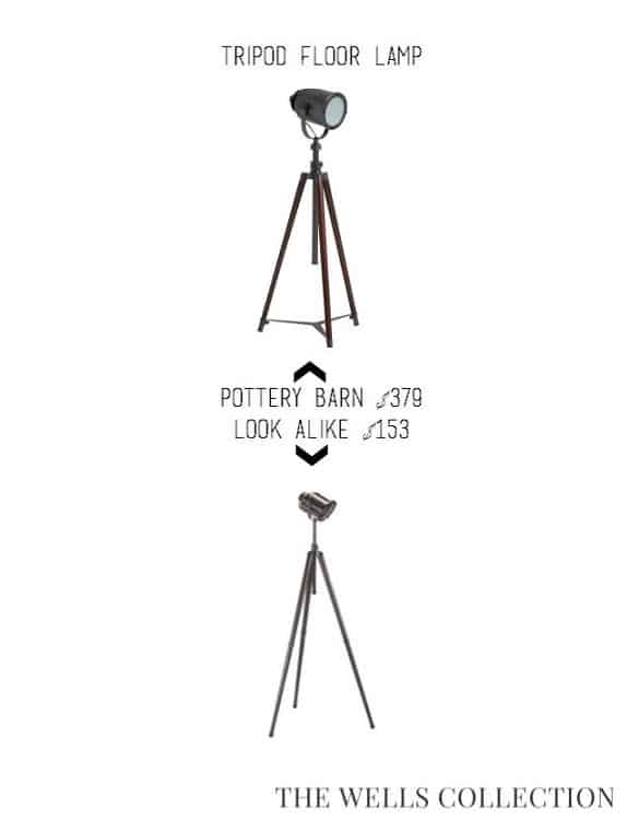 Pottery Barn Lamp for Less