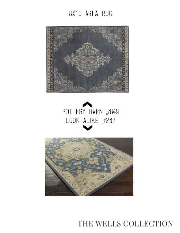 Pottery Barn Rug for Less