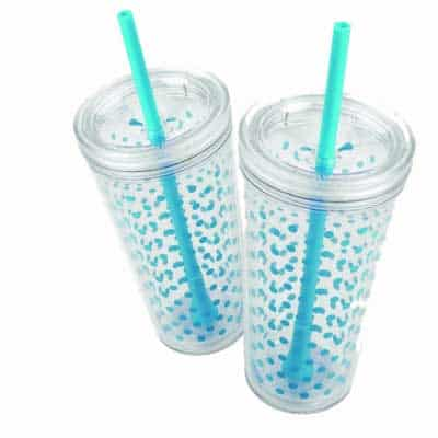 Double Wall tumblers are the best for cold drinks!