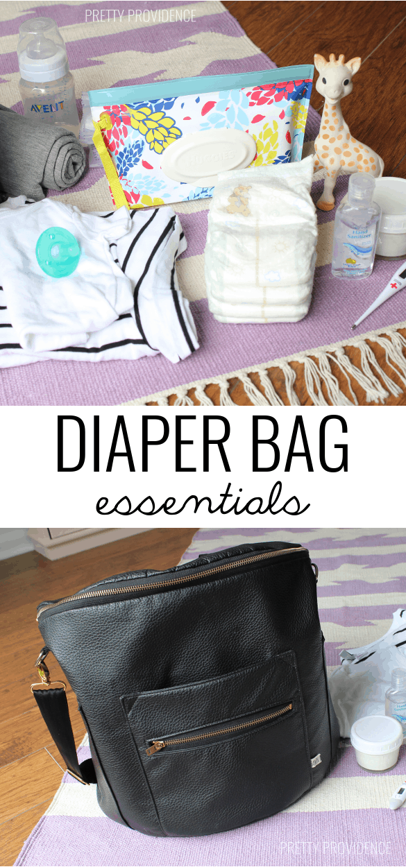 Diaper Bag Essentials! Things you NEVER want to leave the house without!