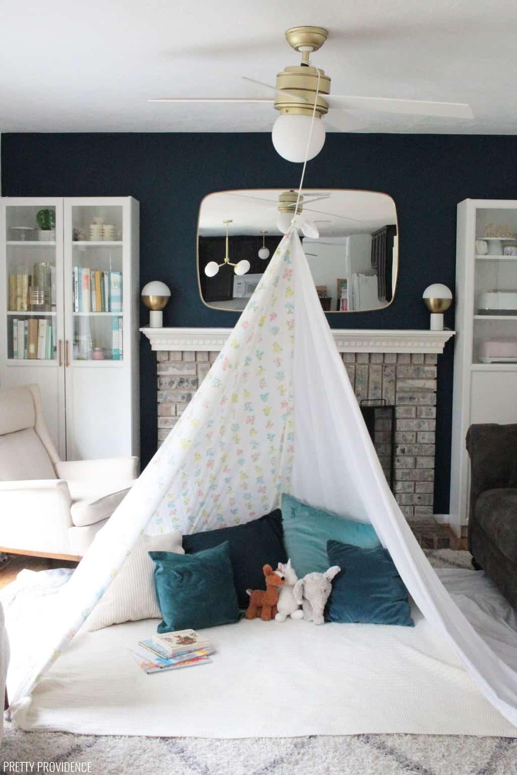 Indoor Forts For Kids Diy Blankets