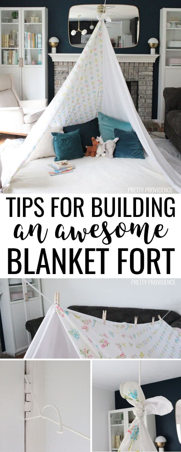 How To Build The Best Blanket Fort - Pretty Providence