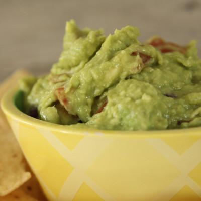 Easy Homemade Guacamole!