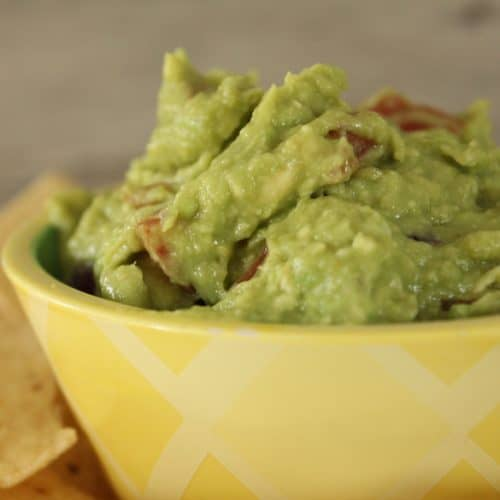 Easy Homemade Guacamole!