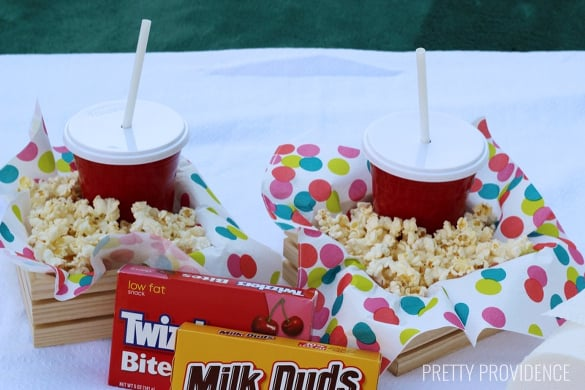 on my summer bucket list! backyard movie night! grab an air mattress + laptop and have a fun movie night in your backyard!