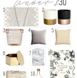 Affordable home accessories