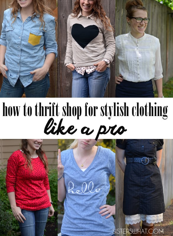 How to thrift for stylish clothes like a proPP