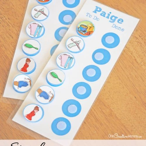 Simple Chore Chart for Kids
