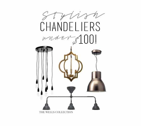 Stylish Chandeliers Under $100! - Stylish Chandeliers Under $100! - Pretty Providence