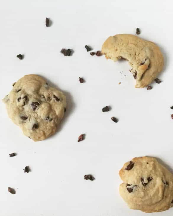 Cacao Nib Chocolate Chip Cookies | Feast + West for Pretty Providence