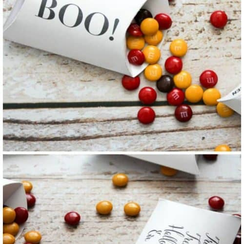 FREE Halloween Pillow Box Printables