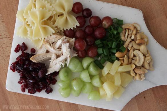 ranch-bowtie-pasta-salad-ingredients