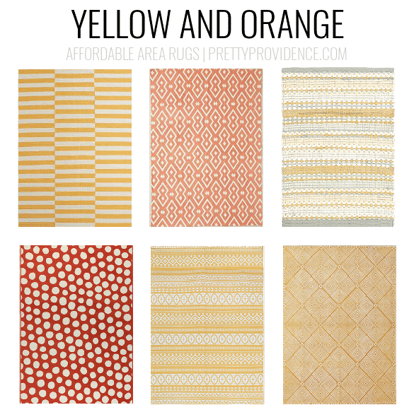 High Quality Yellow And Orange Rugs. Affordable Area Rugs   5x7 Less Than $150 Or 8x10  Less
