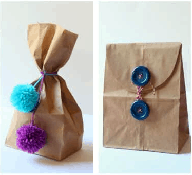 5 Party Favor Packaging Ideas Using Brown Paper Bags