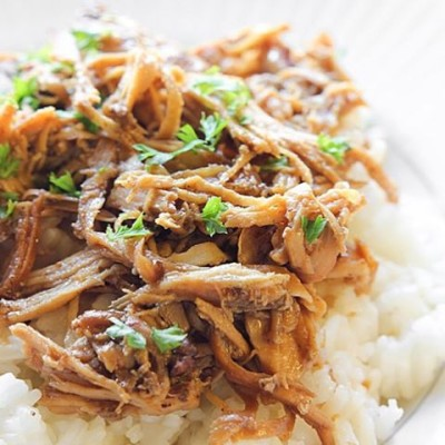 Teriyaki Chicken is so easy to make! The perfect tender, flavorful crock pot option for these cold crazy months!