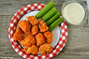 Copycat Chili's Boneless Buffalo Wings | Tastefully Frugal