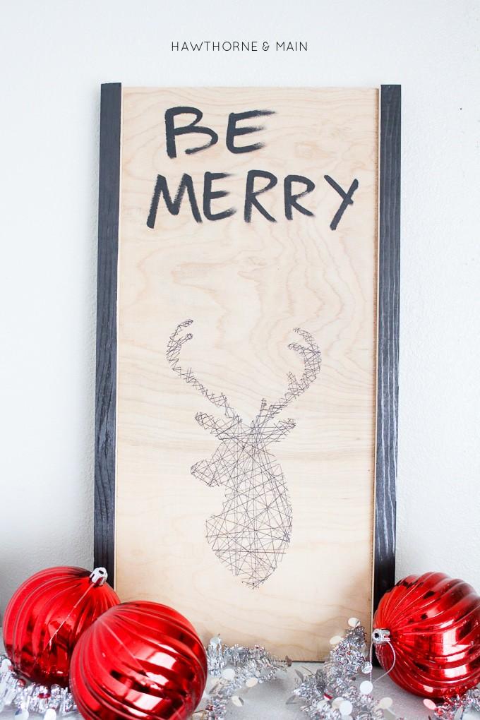 Deer-Be-Merry-Sign port04